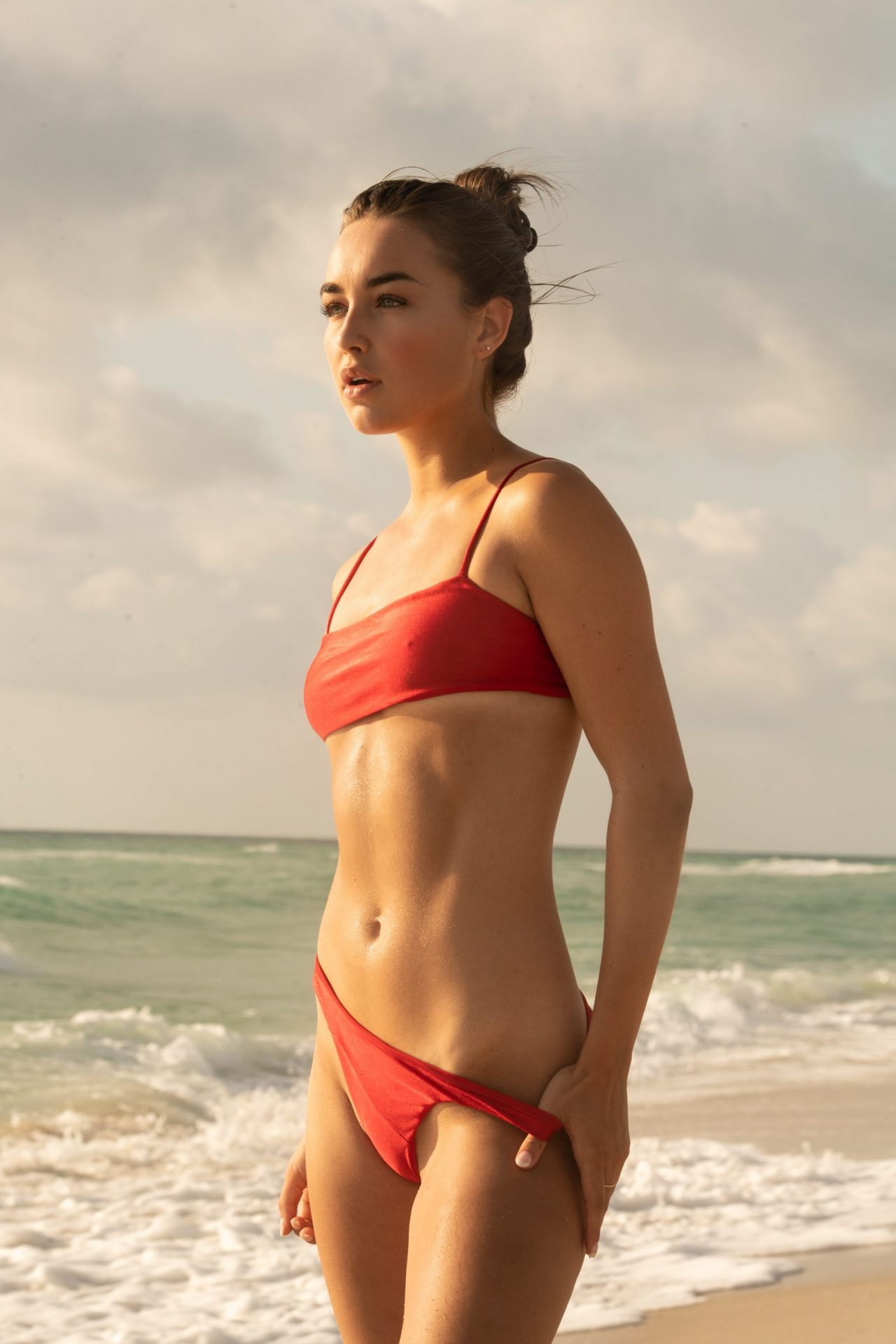 Taylor Bryant in Ley Swimwear