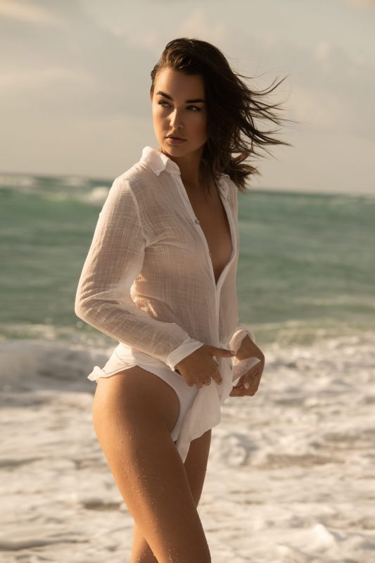 Taylor Bryant on Miami Beach