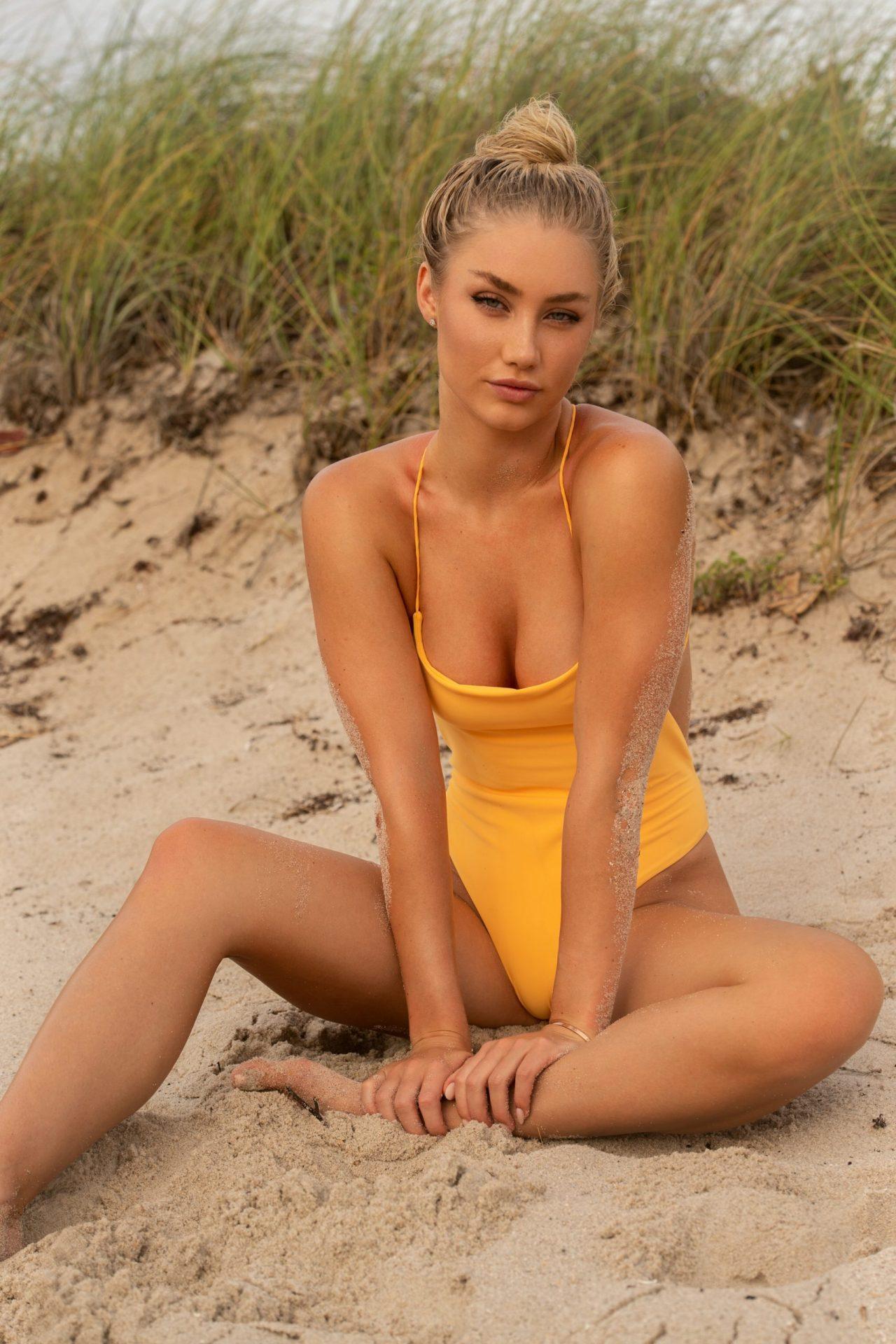 Alexis King on Miami Beach