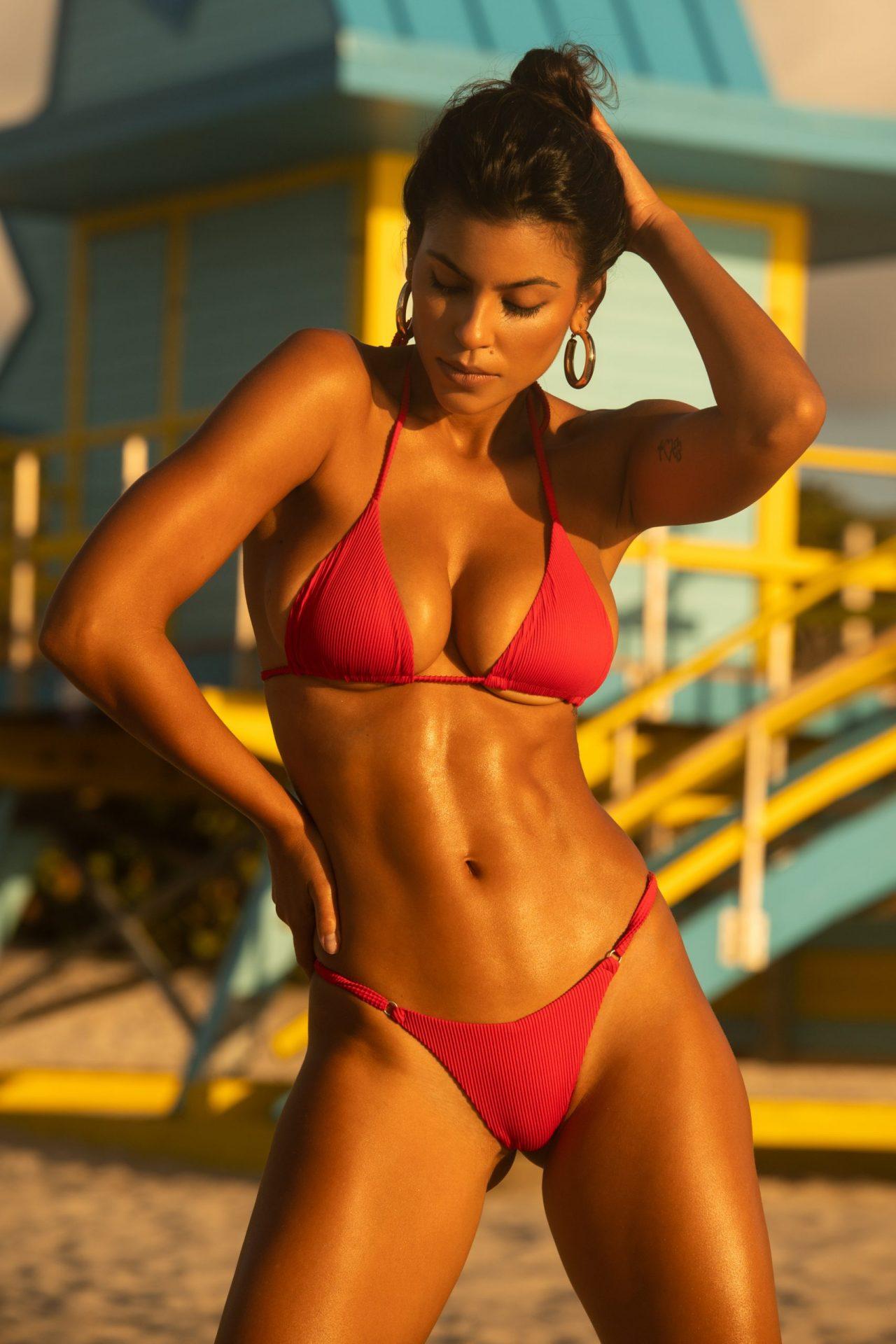 Camila Tavares on Miami Beach